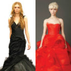 Is red the new white for bridal gowns?