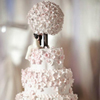 Cherry blossom bouquet cake topper