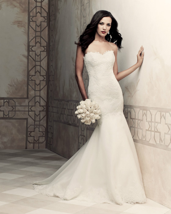 Real Brides Paloma Blanca: Wedding Dresses SS2013 (designers K To Y)