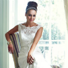 Vintage chic style: Lace, chiffon, organza and more