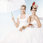 Wedding dresses for a day at the races