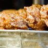 spiced apple cheese fritters