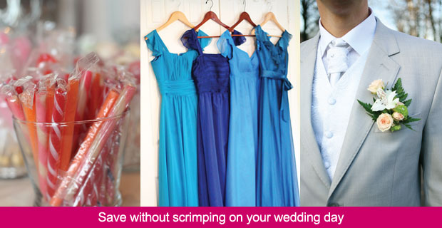 Save without scrimping on your wedding day