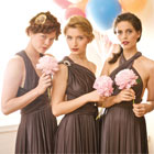 Latest trends in bridesmaid gowns