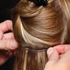 How to put in clip-in hair extensions