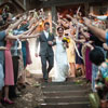 Wedding Streamer Throw