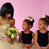 Bride and her Ballerinas