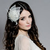 Aegean Lace Leaf Fascinator