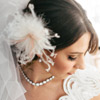 An Airy Oversized Feather Fascinator