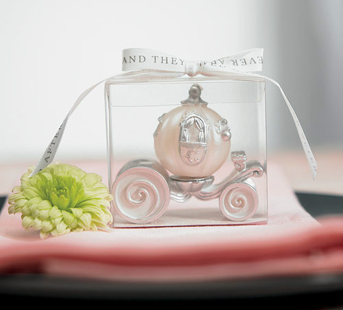 Cinderella fairytale carriage candle