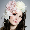 Lady Athena Floral Fascinator