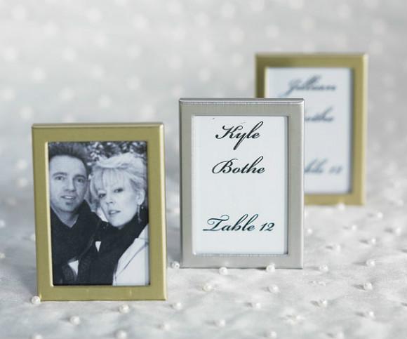 Easel back mini photo frames