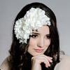 Lady Atheia Peau de Soie Floral Fascinator