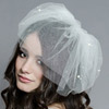 Monet Double Layer Silk Tulle Veil
