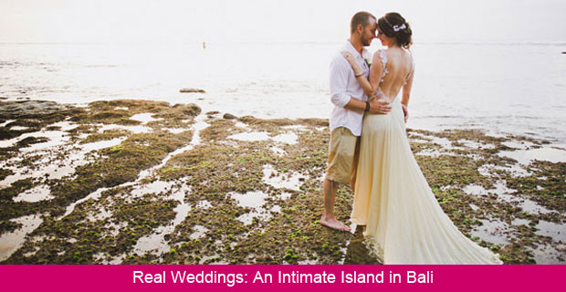 An Intimate Destination Wedding on the Beach in Bali