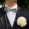 bow-tie and boutonniere