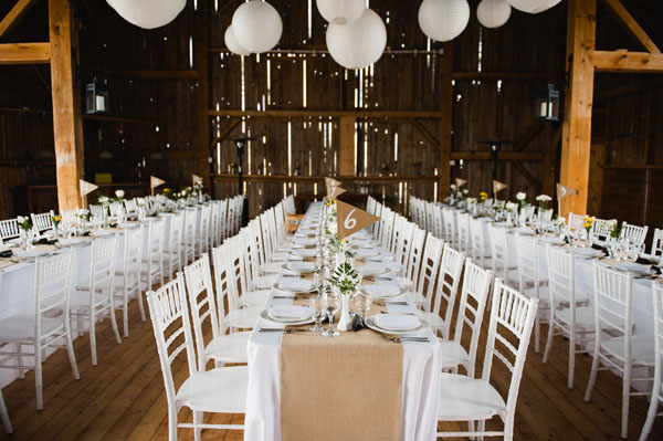 What Tables Do You Need At A Wedding: A Stunning Vintage Wedding In A Barn In Prince Edward