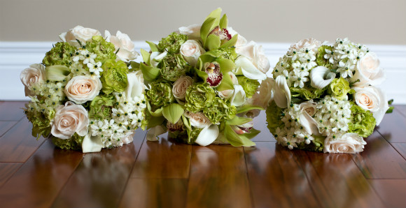 Ideas for your bridal bouquet and wedding flowers todaysbride vintage inspired bouquet with light pink green and white flowers mightylinksfo
