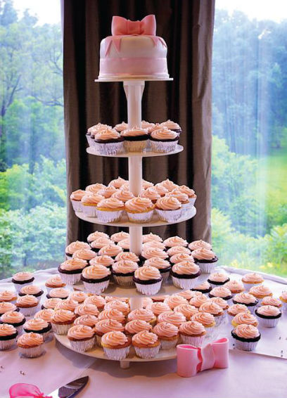 Wedding cupcakes