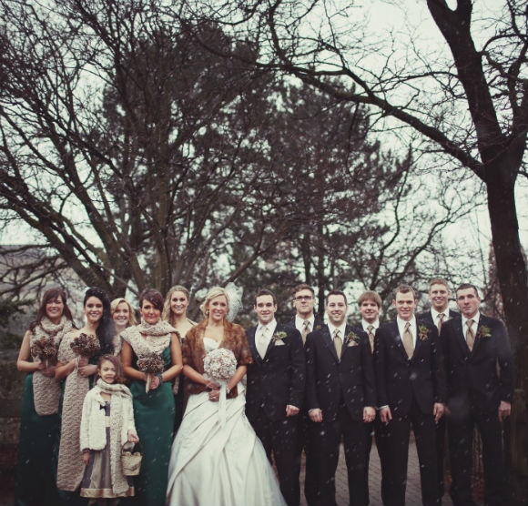 A rustic winter wedding in cambridge ontario for Winter weddings in california
