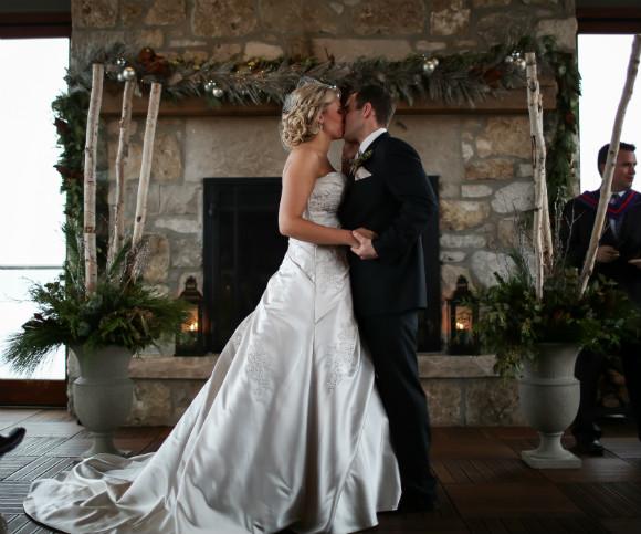 A Rustic Winter Wedding In Cambridge Ontario