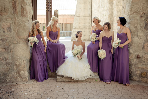 A Stunning Vintage Wedding With Purple And Ivory Details