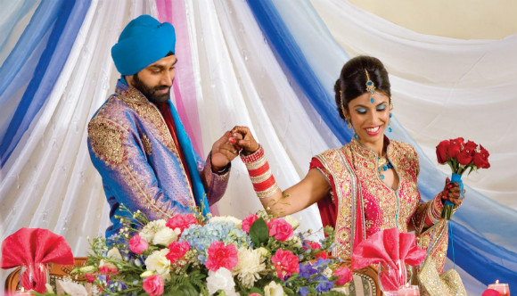 A Traditional Sikh Wedding In Kitchener Ontario Todaysbride Ca