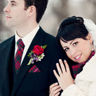 A Scottish Themed Winter Wedding in Winnipeg, Manitoba