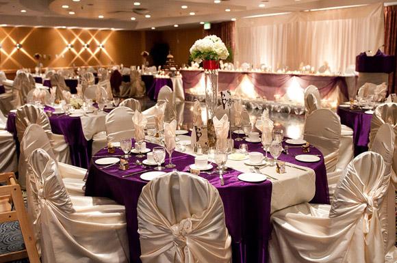 A scottish themed winter wedding in winnipeg manitoba todaysbride table decor junglespirit Choice Image