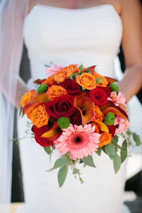 Fall Gerbera Daisy Bouquet A Travel Themed...