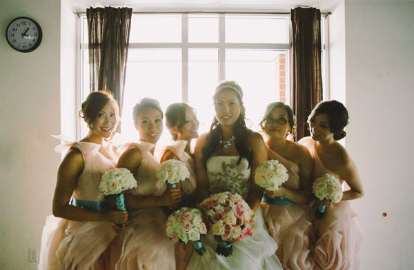 A Chic And Elegant Wedding With Tiffany Blue Amp Blush Pink