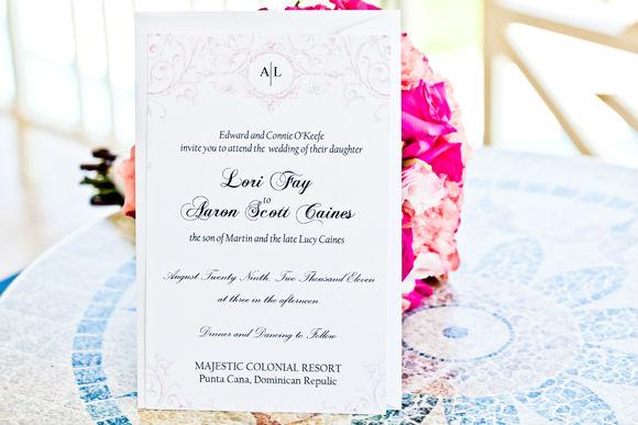 Diy Wedding Invitations Canada: A Simple Destination Wedding In Punta Cana, Dominican