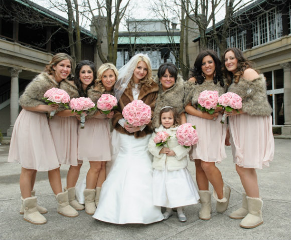 Real Weddings Winter: A Romantic Winter Wedding In Toronto, Ontario