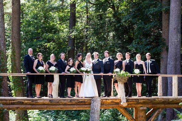 An Elegant Enchanted Forest Themed Wedding In Huntsville