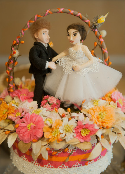 A Hot Pink And Bright Orange Fall Wedding In Toronto Ontario