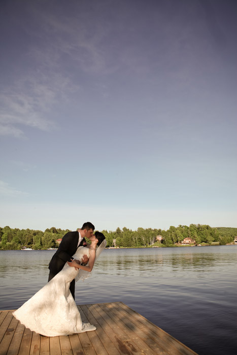 A Cottage Country Themed Wedding With Vintage Flare In Hunstville Ontario Todaysbride Ca
