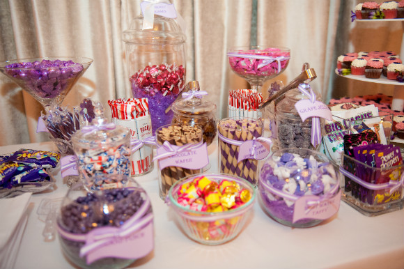 A Sweet And Simple Purple Wedding In Toronto Ontario