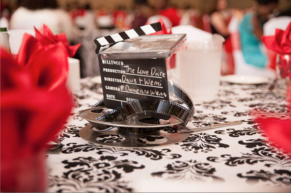 An Elegant Movie-Themed Wedding with Red Details in Oakville ...