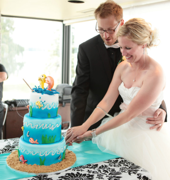 A Fishing Themed Wedding In Hamilton Ontario