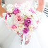 Pretty in Pink Pastel Bridal Bouquet