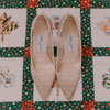 Bridal Shoes and Quilt