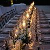 Candlelit Centrepieces