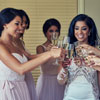 Cheers to the Bridesmaids