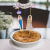 Wedding Pie Topper