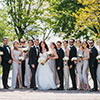 Big and Bold Bridal Party