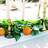Elegant and Natural Table Decor