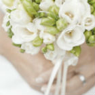 Blooming bouquets. Blushing brides.